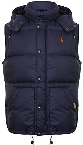 Ralph Lauren Navy - Chaleco para Hombre (Talla XL), Color Azul Marino