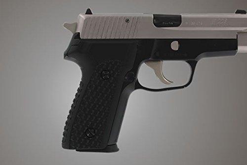 Hogue SIG Sauer P228 P229 DA/SA Chain Link G10 Gun Grips, Solid Black