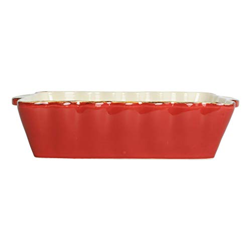 Bakers Red Rectangular-Bakers-Small baking sheet-Small baking pans-Nonstick baking pan- ware cake pans-Oven trays for baking-Baking pans-Baking sheets for oven nonstick-Cookie sheets for baking