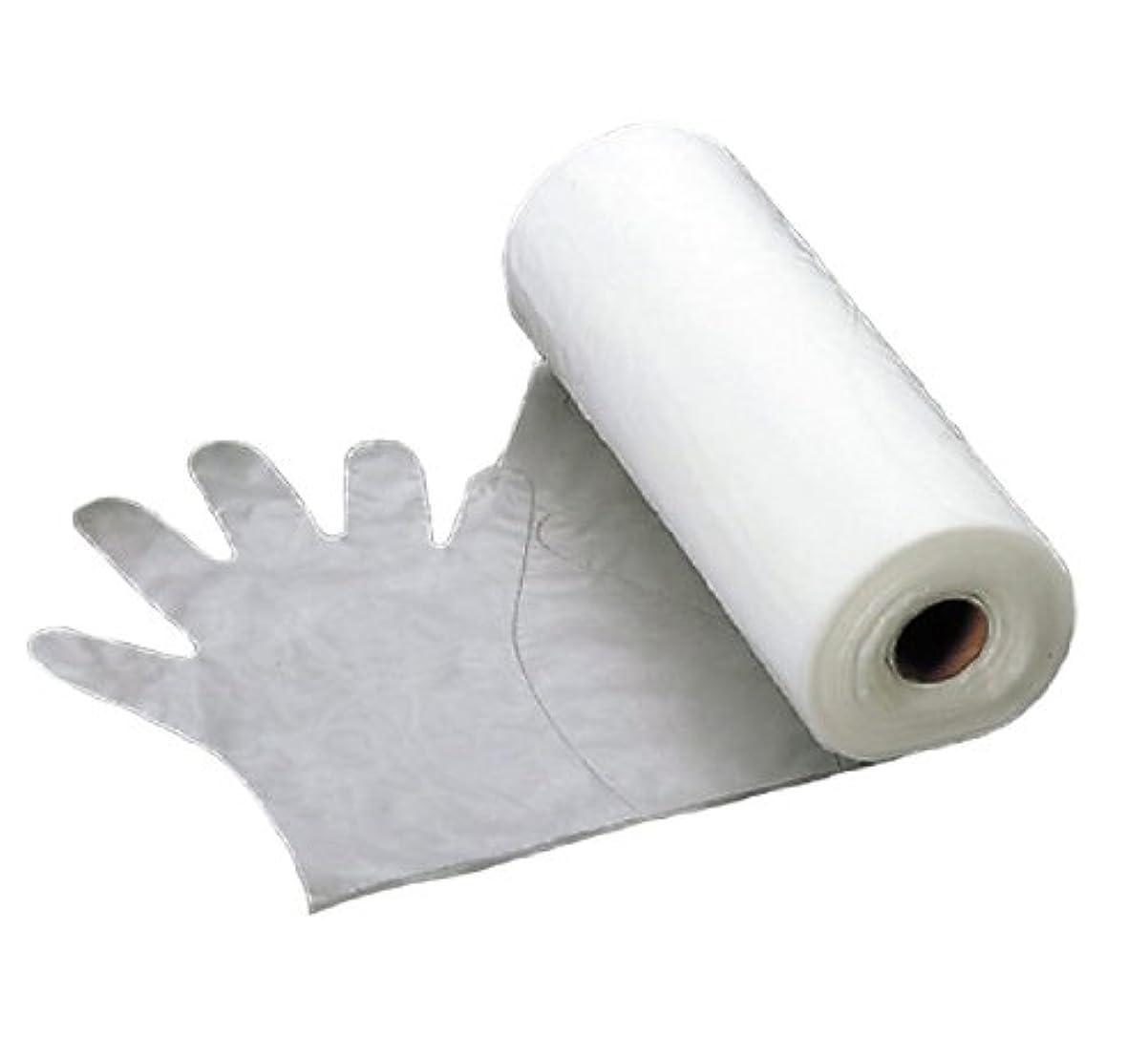 避難粒頻繁にエンボス 手袋 #30(五本絞り)200枚ロール巻 M 30μ