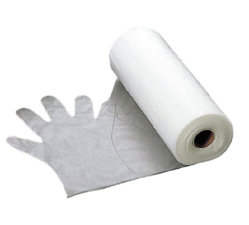 革命パケット要求するエンボス 手袋 #30(五本絞り)200枚ロール巻 M 30μ