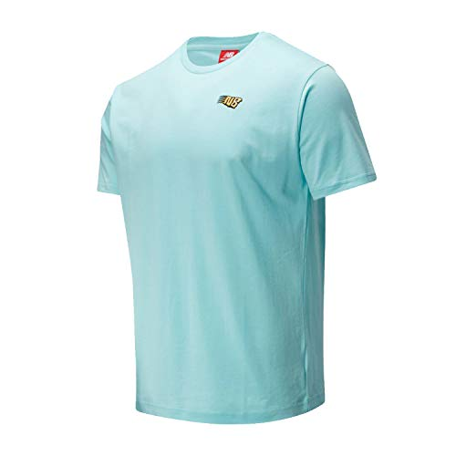 New Balance Athletics Tropic Tee MT01548BB2 - Camiseta para hombre, color verde