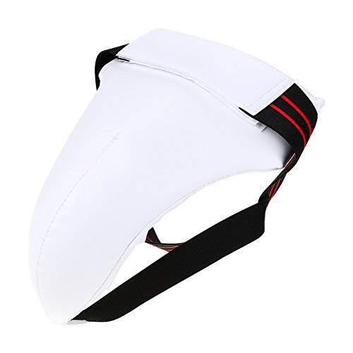 Männer Leistenschutz, Mann Taekwondo Leistenschutz Box Karate Jockstrap Sanda Crotch Protector(S.)