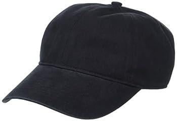 Amazon Essentials Men s Baseball Cap Black One Size