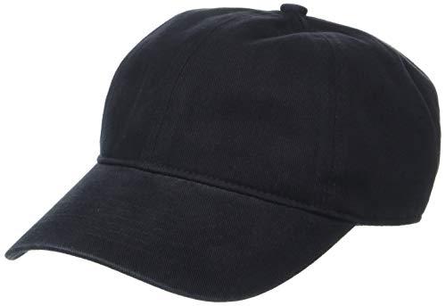 Amazon Essentials Gorra de béisbol, Negro, One Size