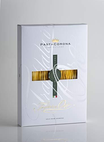 Pasta Corona Tagliolini di Campofilone 250 gr Senatore Cappelli - 3 confezioni - Pasta all'uovo