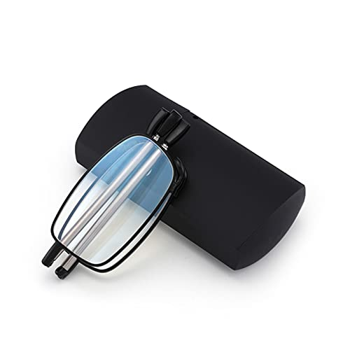 JWZQ Mini Gafas de Lectura Gafas Plegables de Luz Anti-Azul, Anteojos de...