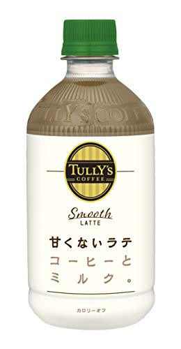 TULLY'S COFFEE Smooth LATTE 500ml×24本 PET