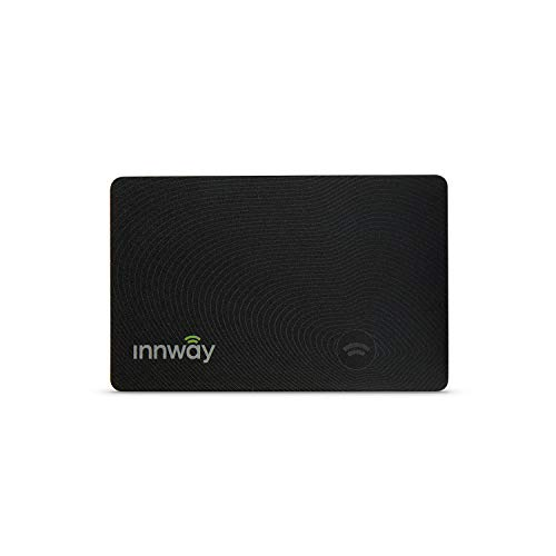 Innway Card - Ultra Thin Rechargeable Bluetooth Tracker Finder. Find Your Wallet, Bag, Backpack,...
