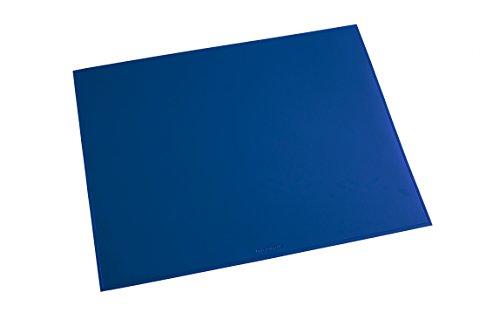 Läufer 40655 Durella bureauonderlegger, 52 x 65 cm, blauw, antislip onderlegger voor hoog schrijfcomfort