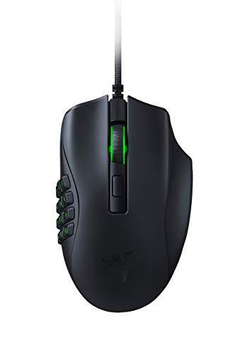 Razer Naga X Wired MMO Gaming Mouse Black (Renewed)