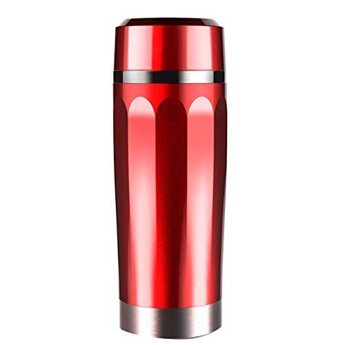 Creative Light- 350ML Voiture électrique Tasse 12V304 Alimentaire Grade en Acier Inoxydable Pot de Chauffage Tasse électrique Tasse Chauffe-Eau pour Petite Voiture Jouer café