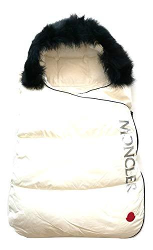 Moncler Enfant E29510080025 Schlafsack, weich, mit Fell, 6-9 Monate