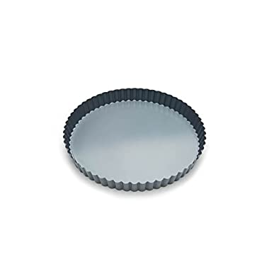Fox Run 44513 Removable Bottom Non-Stick Tart and Quiche Pan, 9-Inch Diameter