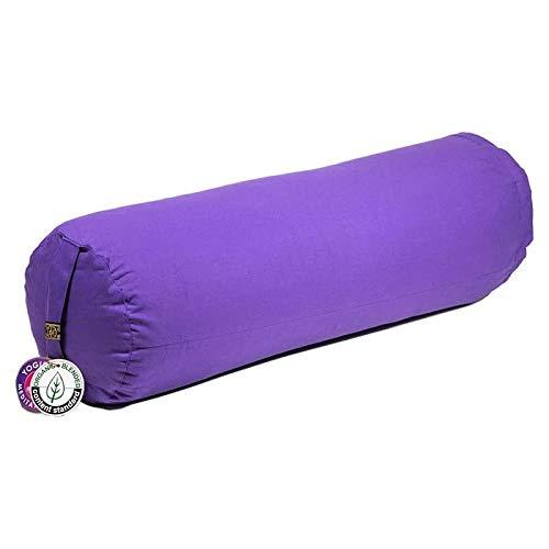 ManiBhadra Yoga Bolster cilíndrico morado