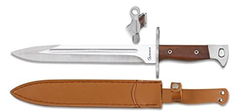 Lo Trinco Cuchillo ALBAINOX 32504 Hoja 23 cm. Herramienta para Caza, Pesca, Camping, Outdoor, Supervivencia y Bushcraft