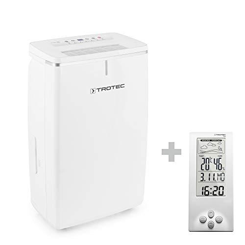 TROTEC Komfort Luftentfeuchter TTK 53 E (max.16 L/Tag), geeignet für Räume bis 78 m³ / 31 m² ink. BZ06
