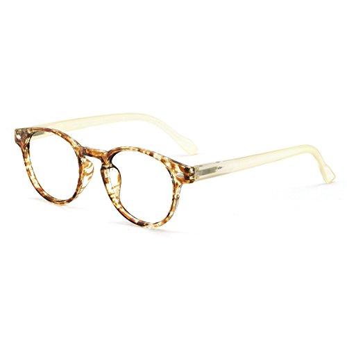 OCCI CHIARI Lightweight Designer Acetate frame Stylish Reading Glasses For Women (Yellow, 2.75)