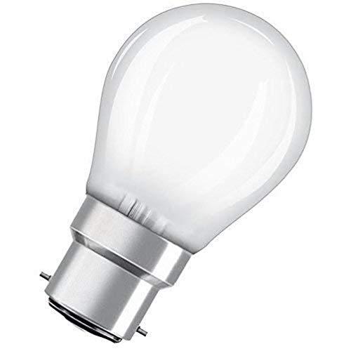 Osram St Clas P Lampada LED B22d, 4 W, Luce Calda, 1 Lamp