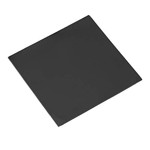 Bewinner 100x100x2mm CPU Thermal Pad dissipatore di Calore in Silicone conduttivo, Morbido e Facile da Applicare(Nero)