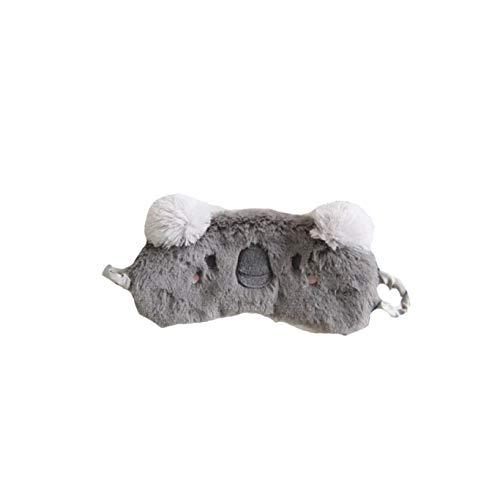 dressfan Nette 3D Flauschige Tieraugenmaske Für Schlaf Reisen Atmungsaktiv Eyeshade Cartoon Schlafmaske Kinder Erwachsene Dame