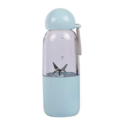 Portable Juicer, Mini Juice Juice Cup Electric Mixer Outdoor Sports Best Friend Healthy Lifestyle Detachable,Blue