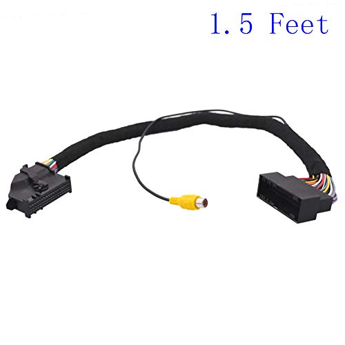 Apim 54 Pin Extension Cable Awg22 Male To Female Compatible With Ford Sync 1 Sync 2 Sync 3 With Rca Female Connector For Backup Camera 50cm 1 5 Feet Buy Online In