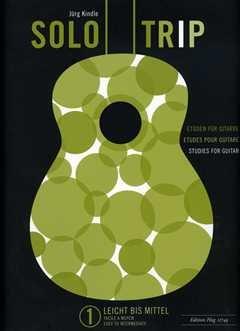Solo Trip 1 - arrangiert für Gitarre [Noten / Sheetmusic] Komponist: Kindle Juerg