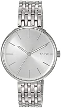 Fossil Hutton Three-Hand Stainless Steel Women's Watch