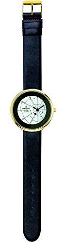 SHEPHERD 15201 Spinnenuhr goldfarbend Damen Armbanduhr (kleine Version) 34 mm Durchmesser Quarz