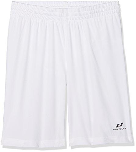 PRO TOUCH - Son short - Enfants - Blanc -FR: 14 ans (Taille Fabricant : 164 cm)