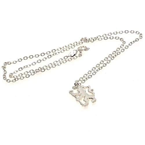 Chelsea F.C. Silver Plated Pendant & Chain LN