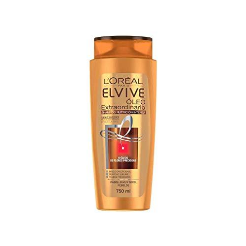 L'Oreal Paris Shampoo Arcilla Purificante Anticaspa Elvive, 750 ml