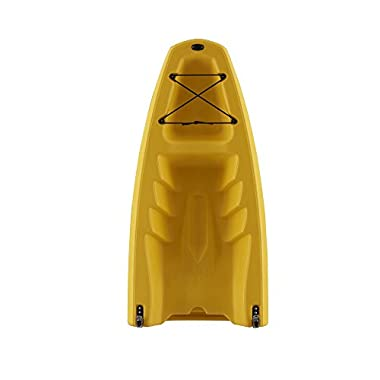 Snap Kayaks USA Modular Sit on Top Kayak (Yellow, Front Piece)