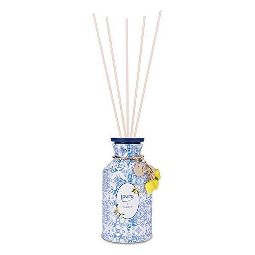 Ipuro, Limited Edition x Capri Raumduft Set für eine sommerliche Atmosphäre Lufterfrischer mit hochwertigen Inhaltsstoffen, Blau, Weiß, 240 ml
