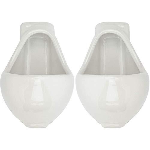 IADZ Taza, Novedades Copas de Vino de cerámica para Fiestas Urinario en Forma de Inodoro Broma Copa de Vino Familia Amigo y compañero de Trabajo
