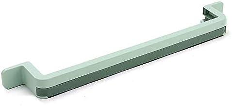 Badkamer Slippers Rek Muur Opknoping Telescopisch Rek Gratis Ponsen Toilet Handdoek Opslag Artefact groen
