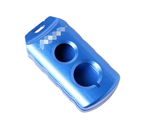 JYXZQZZ ZQZHEN FIT FOR FOR Yamaha Scooter Xmax 300 Cuchilla DE Clave Xmax 300 Xmax 125 Xmax 250 XMAX400 2017-2020 Protección del Titular de la Llave con Logo Xmax (Color : Blue)