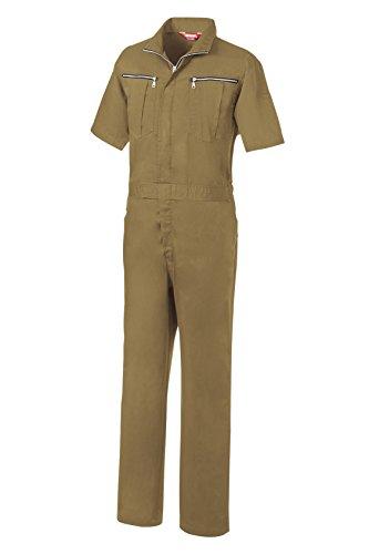 SOWA(ソーワ) 半袖続服 ライトブラウン Mサイズ 9907