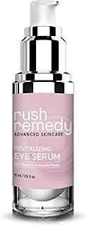 Rush Remedy - Advanced Skin Care - Revitalizing Eye Serum - Powerful Wrinkle Reducing Serum for Eyes