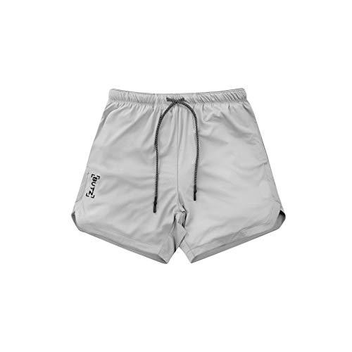 Romantic Maillot de Bain - Short Boxer Homme Short Pantalon Court de Sport Plage Mer Loisir Noir, Blanc, Gris, Camouflage, Kaki, Vert Armée