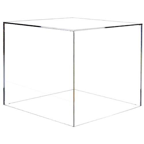 HOKU Holzhäuser Kunststofftechnik Acryl Glas Tisch - Vitrine 20x20x20 cm groß.