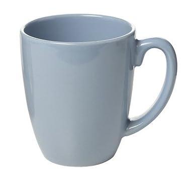 Livingware 11 oz. Mug [Set of 6] Color: Light blue