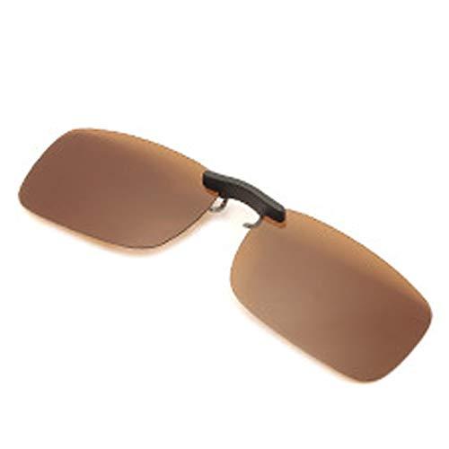 クリップオン サングラス 偏光サングラス クリップ UV400 夜間運転 偏光スポーツサングラス 偏光レンズ メガネの上からつけられる 付きサングラス 偏光クリップ眼鏡 紫外線カット 前掛けクリップ式サングラ ス 収納ケース付き 超軽量 男女兼用 Wang