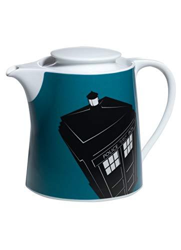 BBC Worldwide Doctor Theepot Tardis, Blauw