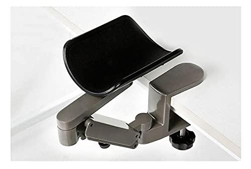 Verstellbare Computer-Armlehne für den Schreibtisch, Handgelenkauflagen, ergonomisches drehbares Ellenbogenpolster, Klemmarmstütze lindert Stress und lindert Schulterschmerzen