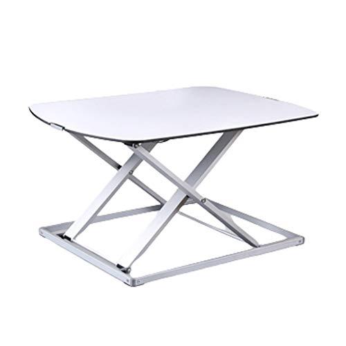 Tavolino Pieghevole Postazione di lavoro Convertitore da scrivania seduto-in piedi,workstation da ufficio super robusta regolabile in altezza,convertitore da scrivania in piedi,montante ergonomico con