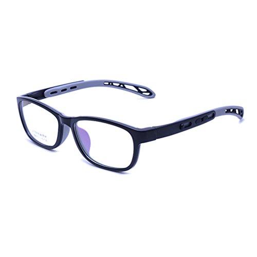 Juleya Juleya Kinder Gläser Rahmen - TR + Silikon - Professionel Kinder Brillen Clear Lens Retro Reading Eyewear für Mädchen Jungen