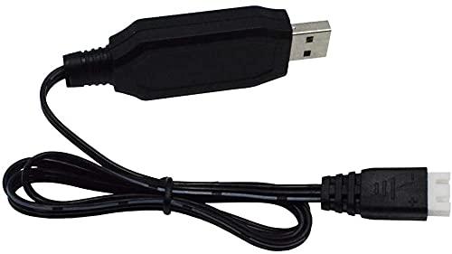YUNIQUE Italia 1 Pezzo 7.4V Batteria al Litio Cavo di Ricarica USB per SYMA X8C X8G X8HW Hubsan H501S H501A B2W