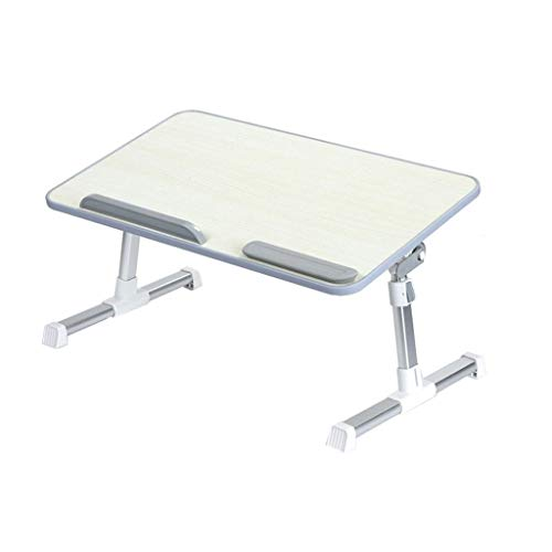 WNN-T Desk for laptop, small bed Lazy table, portable folding breakfast tray, multifunction T